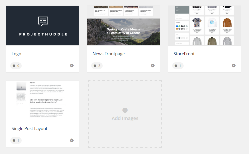 Organized client feedback for designers and developers. | ProjectHuddle