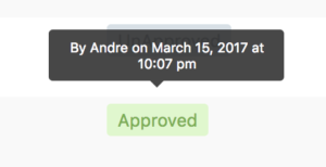 Artwork Approval Information